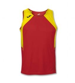 Camiseta Record rojo, amarillo