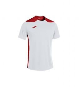Camiseta Championship VI Manga Corta blanco, rojo