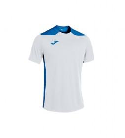Camiseta Championship VI Manga Corta blanco, azul