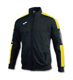 Chaqueta Champion IV  negro, amarillo