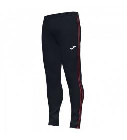 Pantalones Combi negro, rojo