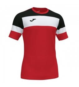Camiseta Crew IV rojo, negro