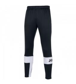 Pantalón Largo Crew IV negro, blanco
