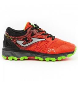 Joma  Sima Jr. trekking shoes red, black