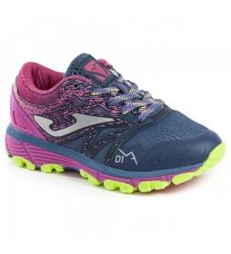 Joma  J.SIMA JR 923 NAVY-FUCHSIA trail shoes