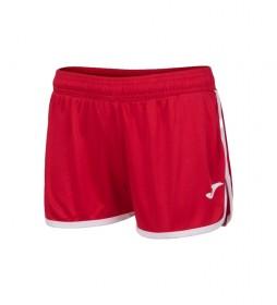 Shorts Levante rojo, blanco