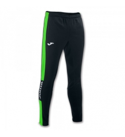Pantalón Champion IV negro, verde fluor