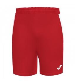 Maxi Short rojo, blanco