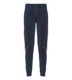 Pantalón Stripe azul, rojo
