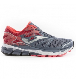 Joma  Zapatillas Running Victory Lady gris / 286g