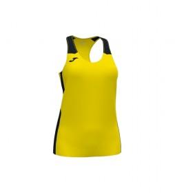 Camiseta Record II amarillo, negro
