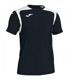 Camiseta Champion V negro, blanco