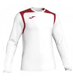 Camiseta Champion V blanco, rojo