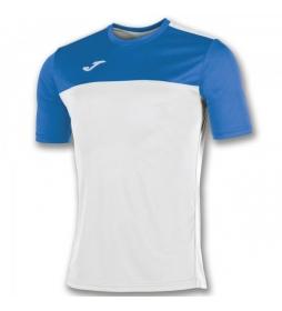 Camiseta Winner blanco, azul