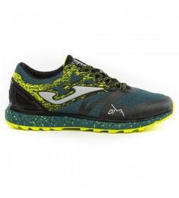 Joma  Sima green trail running shoes