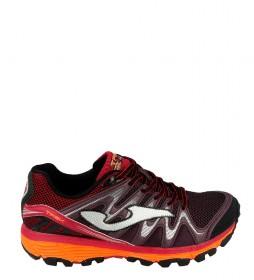 Joma  Trail running shoes TK.TREK MEN 824 BLACK-BURDEAUX
