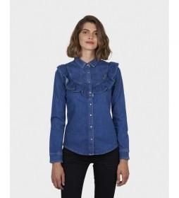 Camisa Vaquera Elyn azul denim