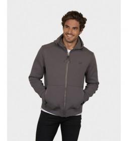 Chaqueta capucha Alex gris