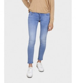 Pantalones Vaqueros Lockk azul claro denim