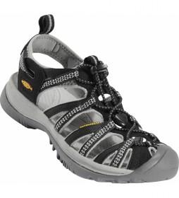 Keen Sandals Whisper black, neutral gray -246.6g-