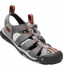 Keen Sandalias Clearwater CNX grey flannel, potters clay -255.1g-