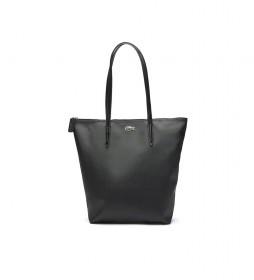 Bolso Shopping Bag Vertical L.12.12 Concept  negro -26x35x16cm-