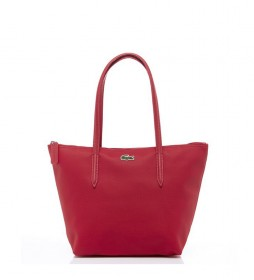 Bolso Shopping Bag Pequeño L.12.12 Concept rojo -24x24,5x14,5cm-