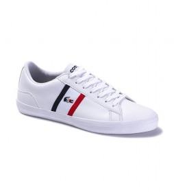 Zapatillas de piel Lerond blanco