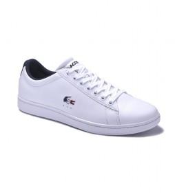 Zapatillas de piel Carnaby Evo blanco