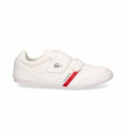 Zapatillas de piel 41CMA0045 blanco
