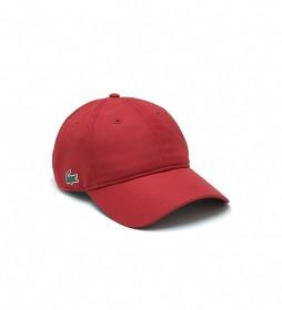 Gorra Ligera Sport rojo