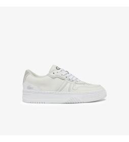 Zapatillas de piel Court blanco roto