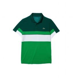 Polo DH6932 Verde, blanco