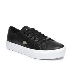Zapatillas de piel Ziane Plus Grand negro