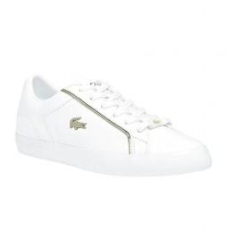 Zapatillas de piel Vulcanized blanco