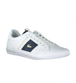 Zapatillas de piel Chaymon blanco