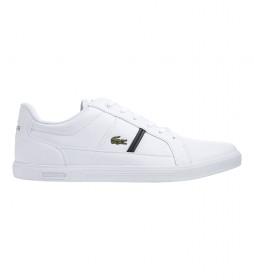 Zapatillas de piel Europa blanco, marino