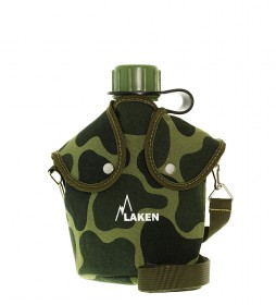 Laken Polyethylene water bottle with camouflage felt cover -1L / 216g-