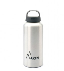 Laken Classic white aluminum bottle - wide mouth / 0.6L / 107g-