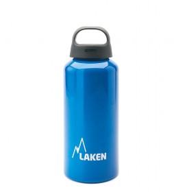 Laken Botella de aluminio Classic azul -boca ancha / 0,6L / 107g-