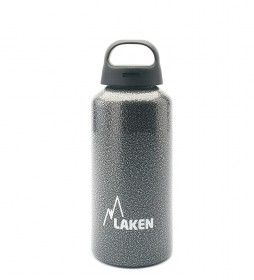 Laken Classic gray aluminum bottle - wide mouth / 0.6L / 107g-