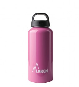 Laken Classic Pink aluminum bottle - wide mouth / 0.6L / 107g-