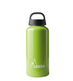 Laken Classic green aluminum bottle - wide mouth / 0.6L / 107g-