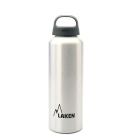 Laken Classec white aluminum bottle - wide mouth / 0,75L / 125g-