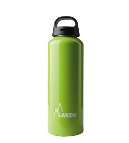 Laken Botella de aluminio Classec verde -boca ancha / 0,75L / 125g-