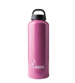 Laken Botella de aluminio Classec rosa -1L / 145g-