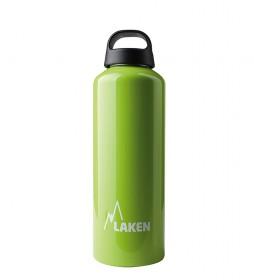 Laken Botella de aluminio Classec verde -1L / 145g-