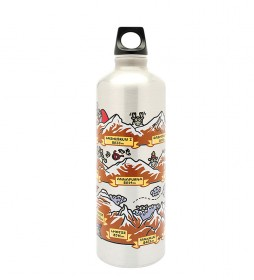 Laken Botella de aluminio Himalaya de Kukuxumuxu Futura -0,75L / 120g-