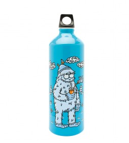 Laken Botella de aluminio Blue Yeti de Kukuxumuxu Futura -1L / 136g-
