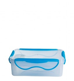 Laken Fresh Clip Lunch Box blue -1,1L-